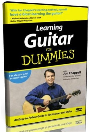 Гра на гітарі для початківців / Игра на гитаре для начинающих/ Learning Guitar for Dummies (2004 / DVD-5)